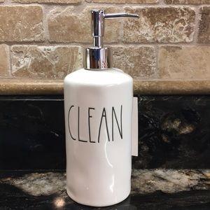 New Rae Dunn CLEAN Soap Pump
